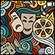 2 Cinema Doodles Seamless Patterns - GraphicRiver Item for Sale