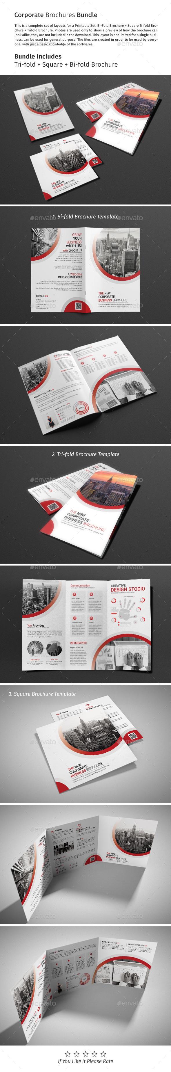Brochure Bundle 04 - Corporate Brochures