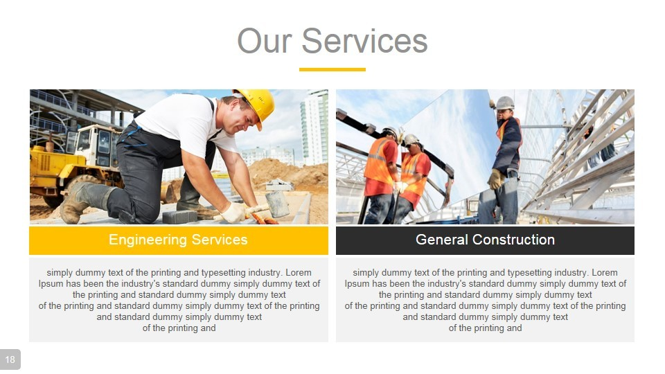 construction powerpoint presentation templaterojdark, Powerpoint templates