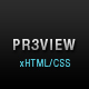 Preview - Fancy Dark xHTML/CSS theme Nulled