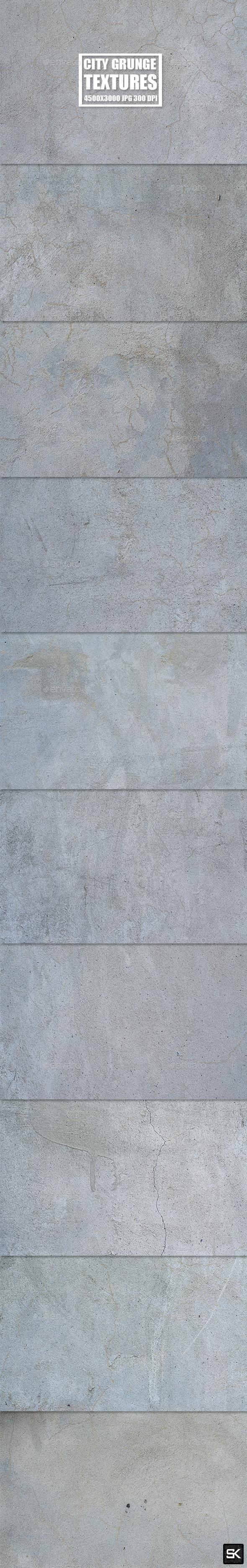 City Grunge - Industrial / Grunge Textures