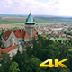 Aerial Fly Around Castle Tower - VideoHive Item for Sale