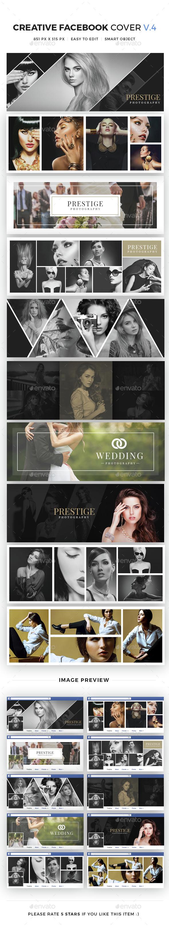 10 Creative Facebook Cover V4 - Facebook Timeline Covers Social Media