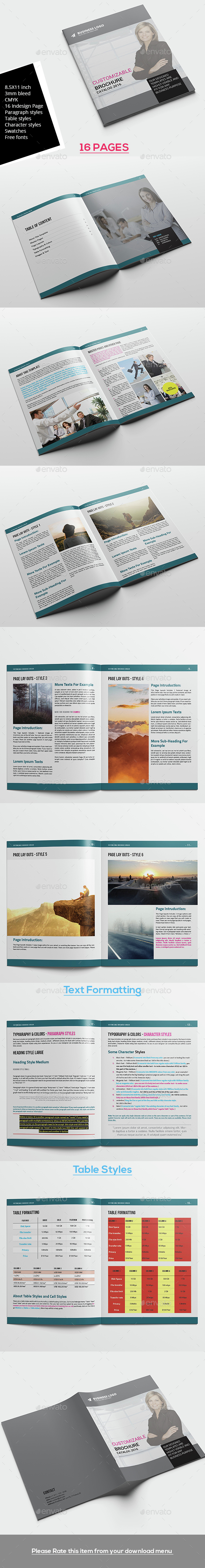 Brochure Template V2 - Corporate Brochures