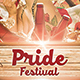 Pride Event Flyer Template V1 - GraphicRiver Item for Sale