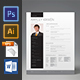 Clean Resume Set - GraphicRiver Item for Sale