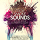 Color Smoke Sounds Flyer - GraphicRiver Item for Sale