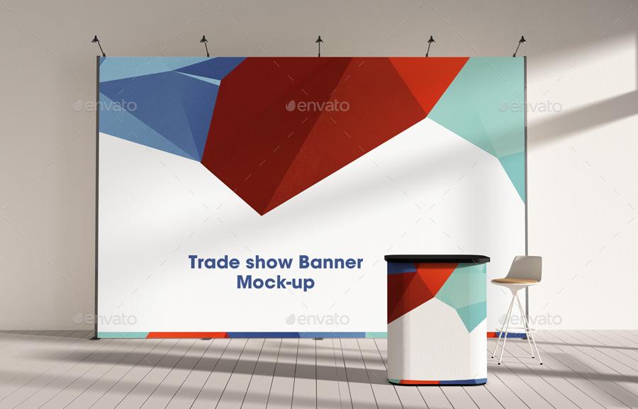 Trade Show Booth Mock-ups Vol 4