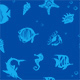 Ocean Fishes Seamles Pattern - GraphicRiver Item for Sale