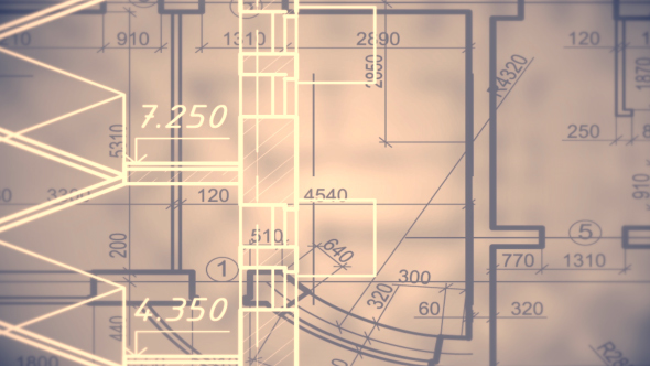 Architectural blueprint background by handrox g videohive play preview video malvernweather Images
