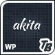 Akita Responsive WordPress Theme - ThemeForest Item for Sale