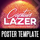 Lazer Party Poster Template - GraphicRiver Item for Sale