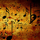 Animated Background With Musical Notes - VideoHive Item for Sale