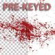 Blood Splash Prekeyed 03 - VideoHive Item for Sale