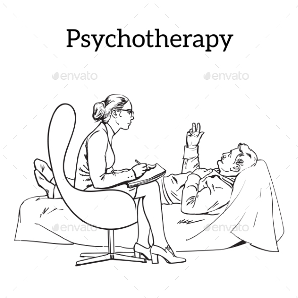 Counselling and Assistance of a Psychologist - People Characters
