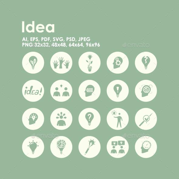 20 Idea icons - Miscellaneous Icons