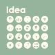20 Idea icons - GraphicRiver Item for Sale