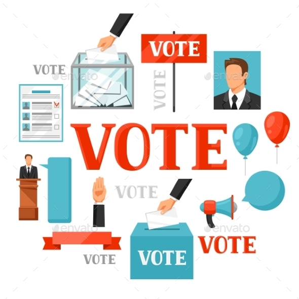 Vote Political Elections Concept - Concepts Business