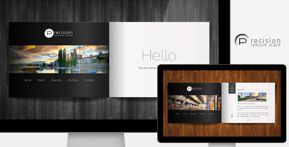 Free Download Precision - Premium vCard Nulled Latest Version