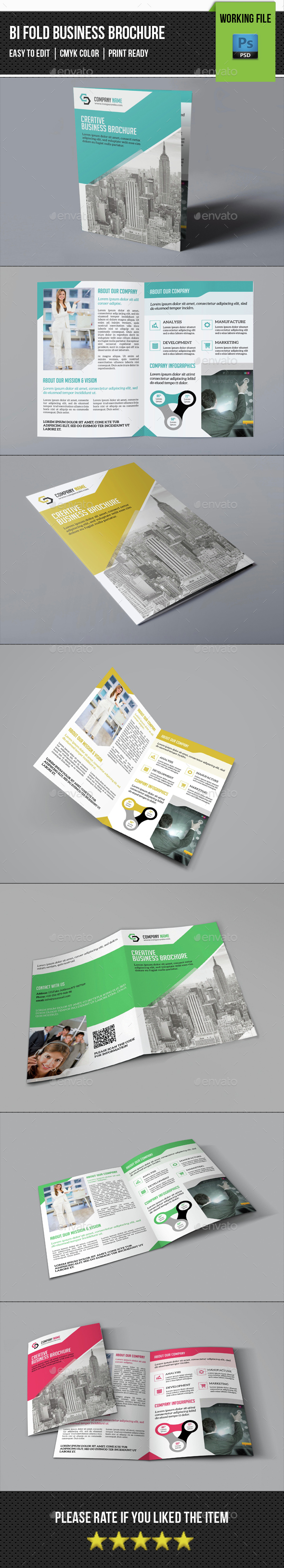 Business Brochure Template-V374 - Corporate Brochures