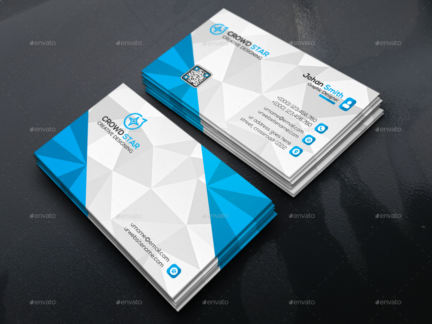 corporate 3d business card business cards print templates 01_preview1jpg 02_preview2jpg - 3 D Business Card