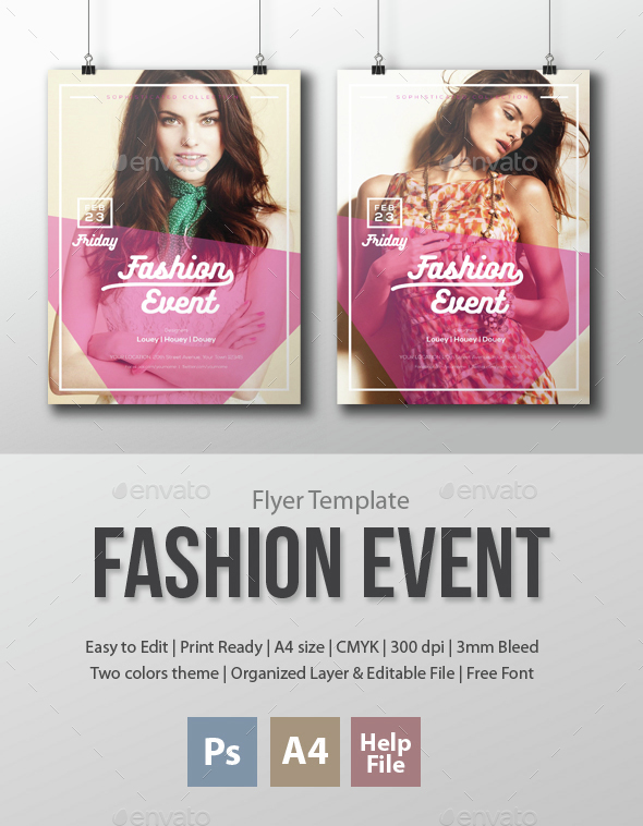 Fashion Event Flyer Template - Events Flyers