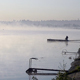 Fog Over The Water And Fisherman - VideoHive Item for Sale