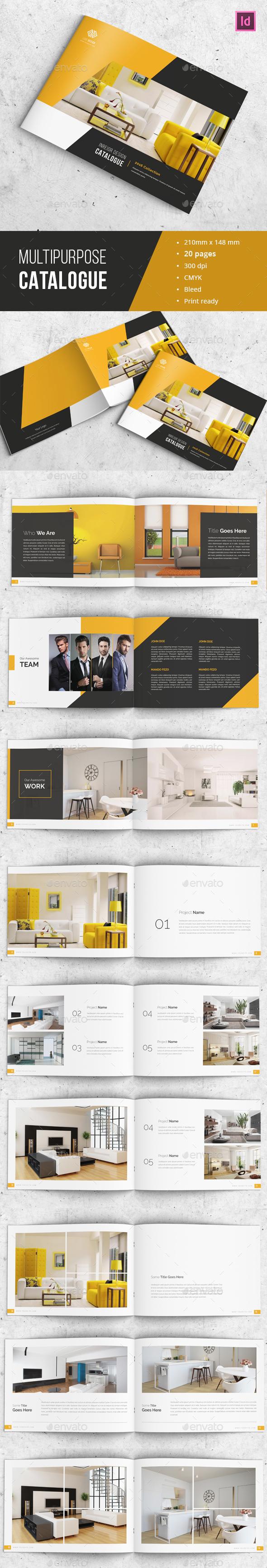 Modern Indesign Catalogue - Catalogs Brochures