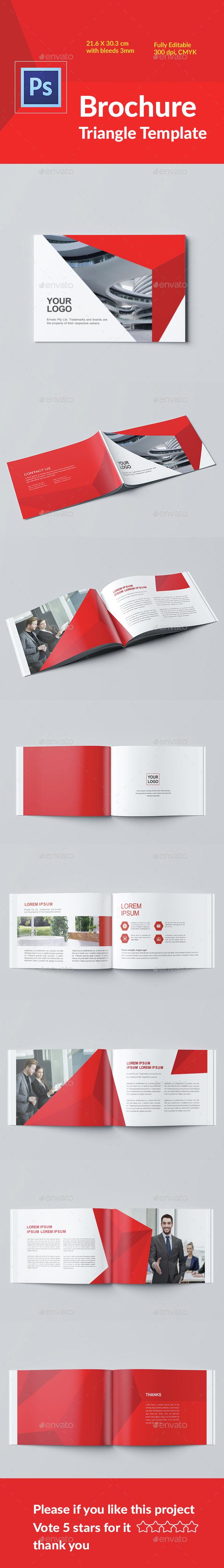 Brochure Template Polygan - Magazines Print Templates