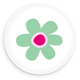 Flower buttons - GraphicRiver Item for Sale