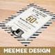 Black Tie Birthday Invitation - GraphicRiver Item for Sale