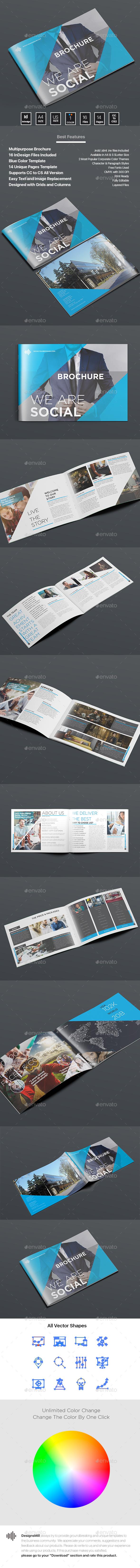 Brochure - Brochures Print Templates