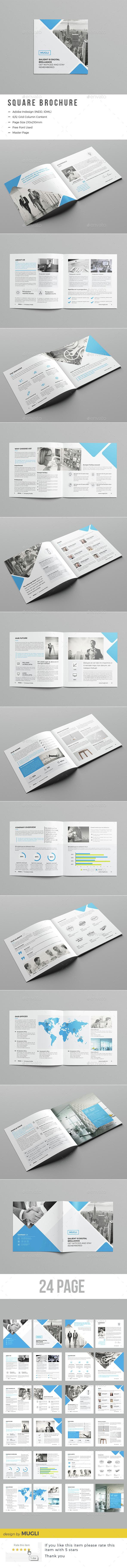 Corporate Square Brochure - Corporate Brochures