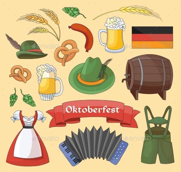 Oktoberfest Germany Elements - Miscellaneous Seasons/Holidays