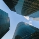 Corporate Buildings And  Clouds - VideoHive Item for Sale