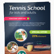 Tennis School / Tournament A4 Flyer - GraphicRiver Item for Sale