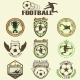 Set of Soccer Football Emblems - GraphicRiver Item for Sale