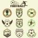 Set of Soccer Football Emblems - GraphicRiver Item for Sale