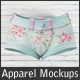 Shorts Mockups - Woman Clothing Mockup - GraphicRiver Item for Sale