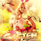 Easter Day Celebration Flyer - GraphicRiver Item for Sale