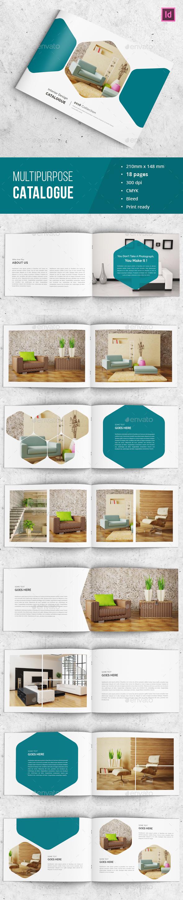 Indesign Catalog - Portfolio - Catalogs Brochures