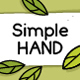 Simple Hand. Regular and Thin - GraphicRiver Item for Sale