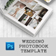 Wedding Photobook Template - GraphicRiver Item for Sale