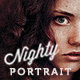 Nighty Portrait Photoshop Actions - dark fantasy toning for portrait, fashion and fine-art - GraphicRiver Item for Sale