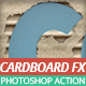 Cardboard FX - Cute Cardboard Action - GraphicRiver Item for Sale