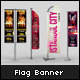 Professional Flag Banner Mock-up - GraphicRiver Item for Sale