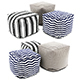 Pouf collection 07 - 3DOcean Item for Sale