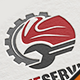 Motorcycle Service Logo - GraphicRiver Item for Sale