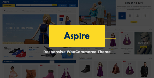 Aspire – Multipurpose WooCommerce Theme