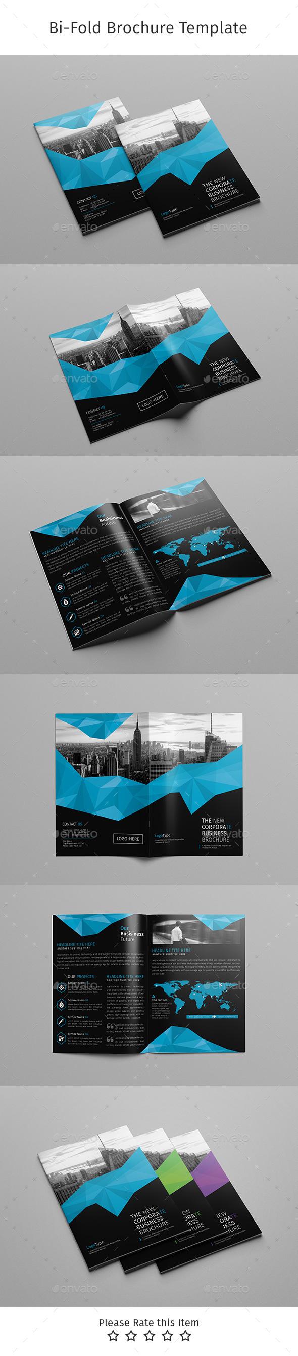 Corporate Bi-fold Brochure-Multipurpose 08 - Corporate Brochures